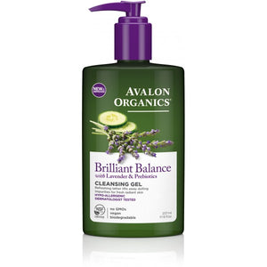 Avalon Organics Brilliant Balance Facial Cleansing Gel 237ml