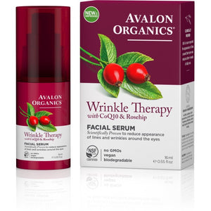 Avalon Organics Wrinkle Therapy - CoQ10 Wrinkle Defense Serum 16ml