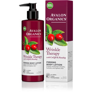 Avalon Organics Wrinkle Therapy Firming Body Lotion 227g