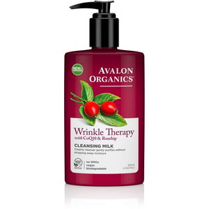 Avalon Organics Wrinkle Therapy - CoQ10 Facial Cleansing Milk 251ml