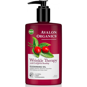 Avalon Organics Wrinkle Therapy - CoQ10 Cleansing Oil 237ml