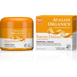 Avalon Organics Intense Defense Renewal Cream 57g