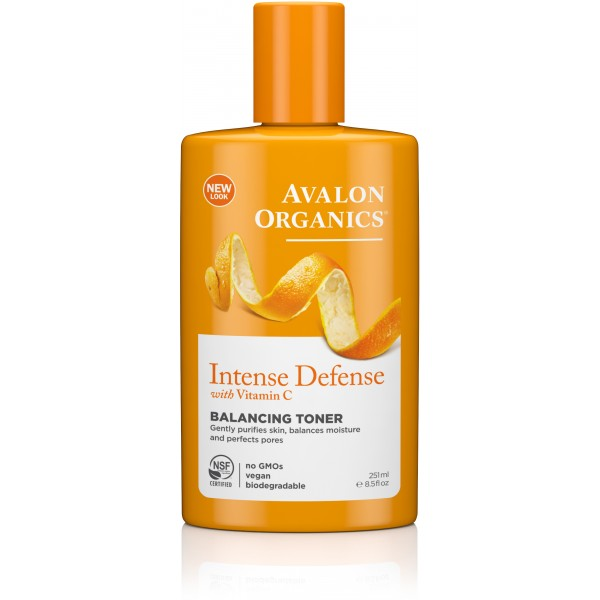 Avalon Organics Intense Defense Balancing Toner 251ml