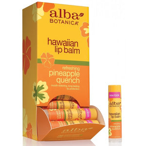 Alba Botanica Hawaiian Lip Balm Pineapple 4.2g