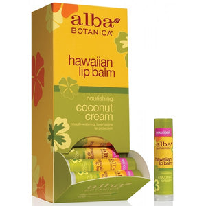 Alba Botanica Hawaiian Lip Balm Coconut Cream 4.2g