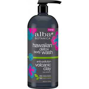 Alba Botanica Hawaiian Volcanic Clay Detox Body Wash 946ml