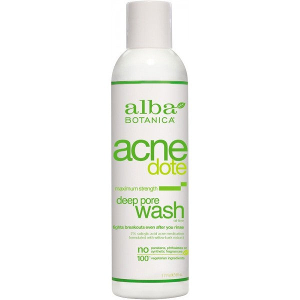 Alba Botanica Acne Deep Pore Wash 177ml