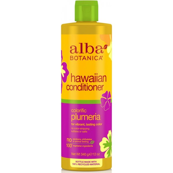 Alba Botanica Hawaiian Colorific Plumeria Replenishing Conditioner 350ml
