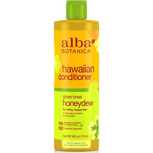 Alba Botanica Hawaiian Gloss Boss Honeydew Conditioner 350ml