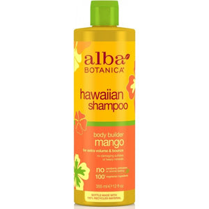 Alba Botanica Hawaiian Body Builder Mango Shampoo 350ml