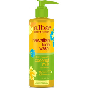 Alba Botanica Hawaiian Coconut Milk Facial Wash 230ml