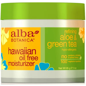 Alba Botanica Hawaiian Aloe & Green Tea Oil-Free Moisturizer 85g