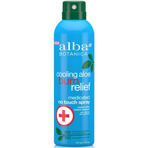 Alba Botanica Cooling Aloe Burn Relief Medicated Spray 177ml