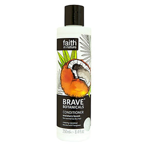 Faith in Nature Brave Botanicals Coconut & Frangipani Moisture Boost Conditioner 250ml