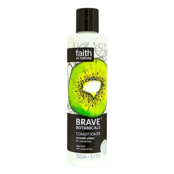 Faith in Nature Brave Botanicals Kiwi & Lime Smooth Shine Conditioner 250ml