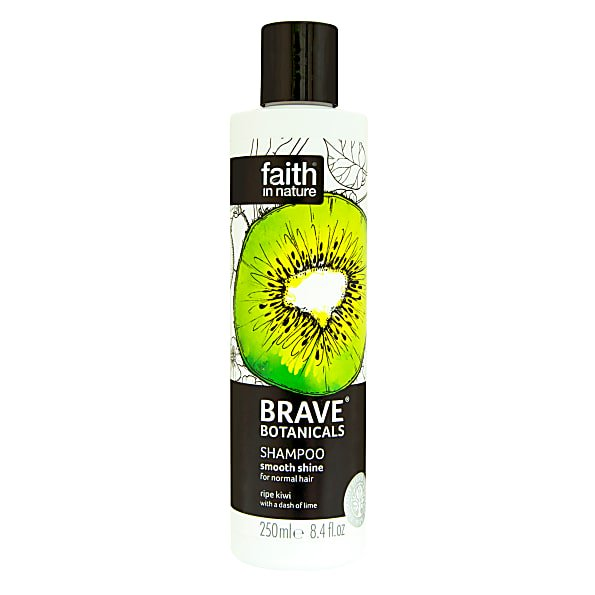 Faith in Nature Brave Botanicals Kiwi & Lime Smooth Shine Shampoo 250ml