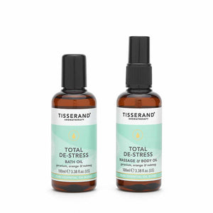 Tisserand Blissful Escape De-Stress Bathtime Collection 2 x 100ml