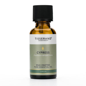 Tisserand Cypress Wild Crafted Essential Oil 30ml