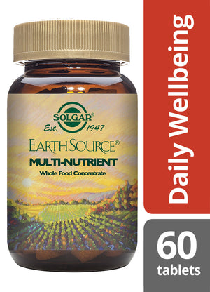 Solgar® Earth Source® Multi-Nutrient Tablets - Pack of 60