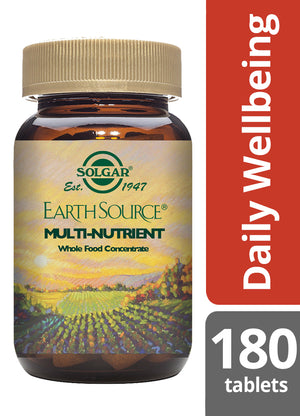 Solgar® Earth Source® Multi-Nutrient Tablets - Pack of 180