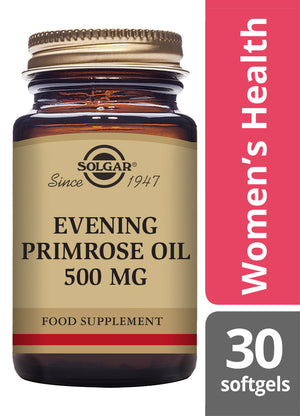 Solgar® Evening Primrose Oil 500 mg Softgels - Pack of 30