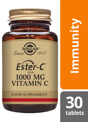 Solgar® Ester-C® Plus 1000 mg Vitamin C Tablets - Pack of 30