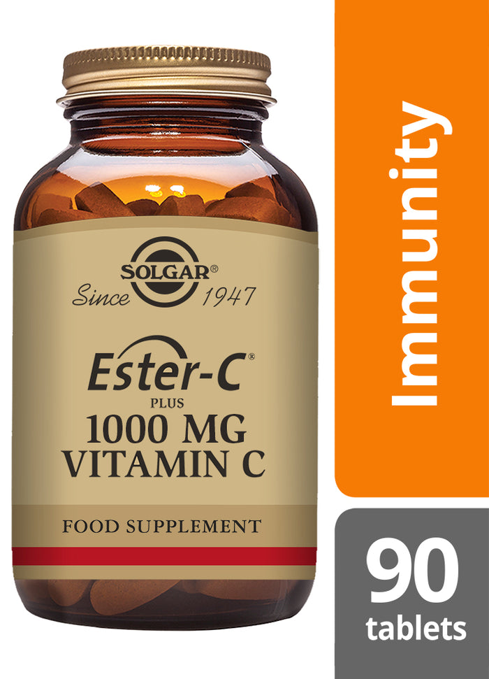 Solgar® Ester-C® Plus 1000 mg Vitamin C Tablets - Pack of 90