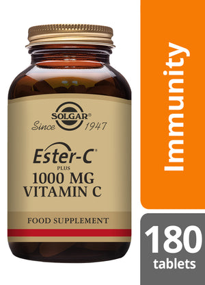 Solgar® Ester-C® Plus 1000 mg Vitamin C Tablets - Pack of 180