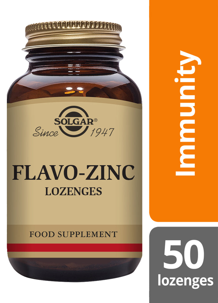 Solgar® Flavo-Zinc Lozenges - Pack of 50