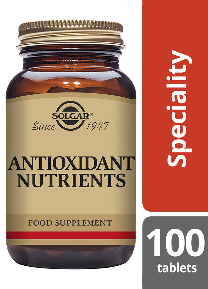 Solgar® Antioxidant Nutrients - 100 tablets