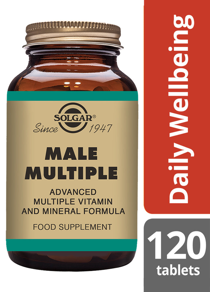 Solgar® Male Multiple Tablets - Pack of 120