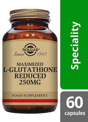 Solgar® Maximised L-Glutathione Reduced 250mg Vegetable Capsules - Pack of 60