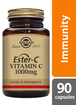 Solgar® Ester-C® 1000 mg Vitamin C Capsules - Pack of 90