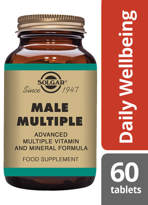 Solgar® Male Multiple Tablets - Pack of 60
