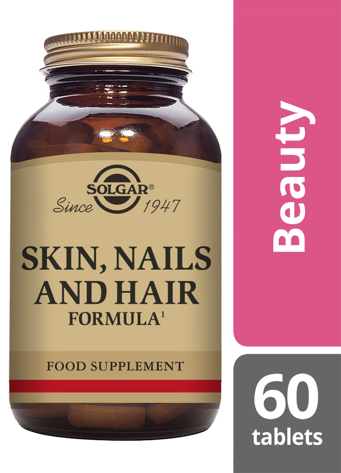 Solgar® Skin, Nails and Hair Formula Tablets - Pack of 60