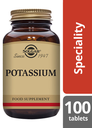 Solgar® Potassium Tablets - Pack of 100