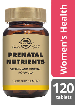 Solgar® Prenatal Nutrients Tablets - Pack of 120