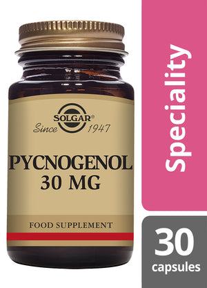 Solgar® Pycnogenol 30mg Vegetable Capsules - Pack of 30