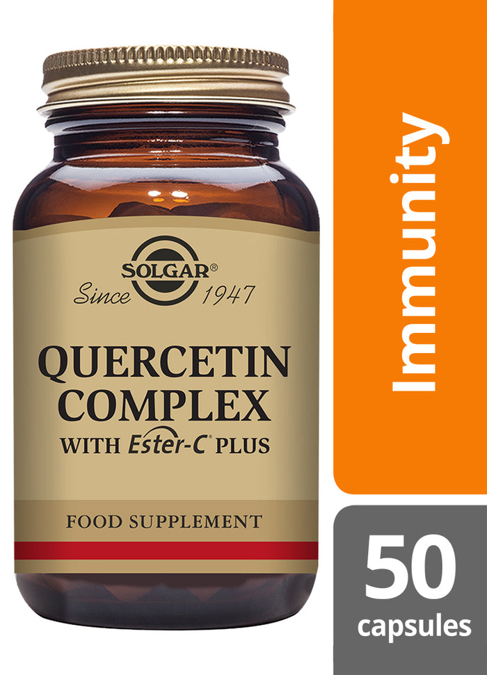 Solgar® Quercetin Complex with Ester-C Plus Vegetable Capsules - Pack of 50