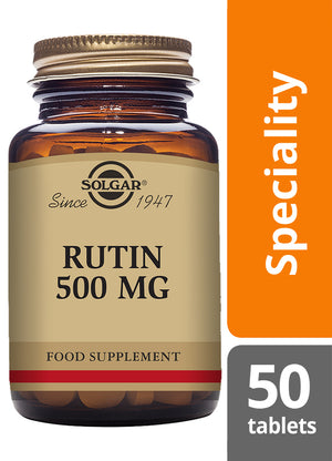 Solgar® Rutin 500mg Tablets - Pack of 50