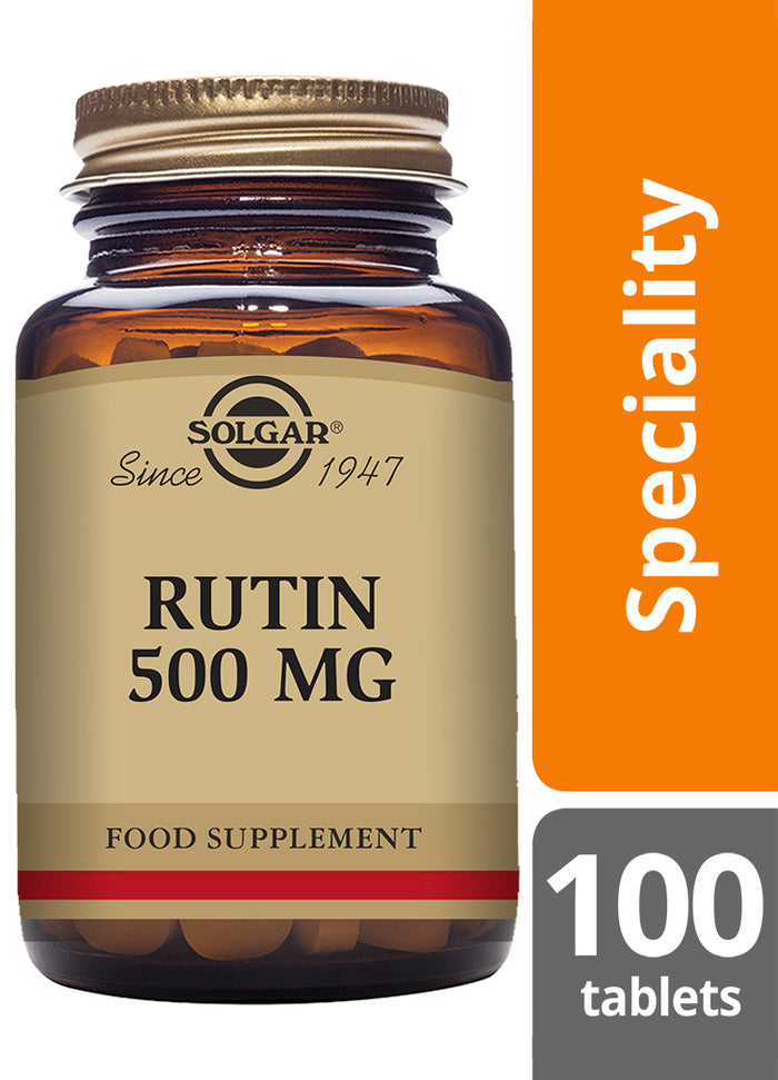 Solgar® Rutin 500mg Tablets - Pack of 100