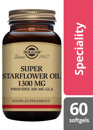 Solgar® Super Starflower Oil 1300mg Softgels - Pack of 60