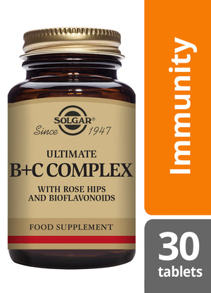 Solgar® Ultimate B+C Complex Tablets - Pack of 30