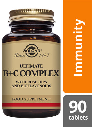 Solgar® Ultimate B+C Complex Tablets - Pack of 90