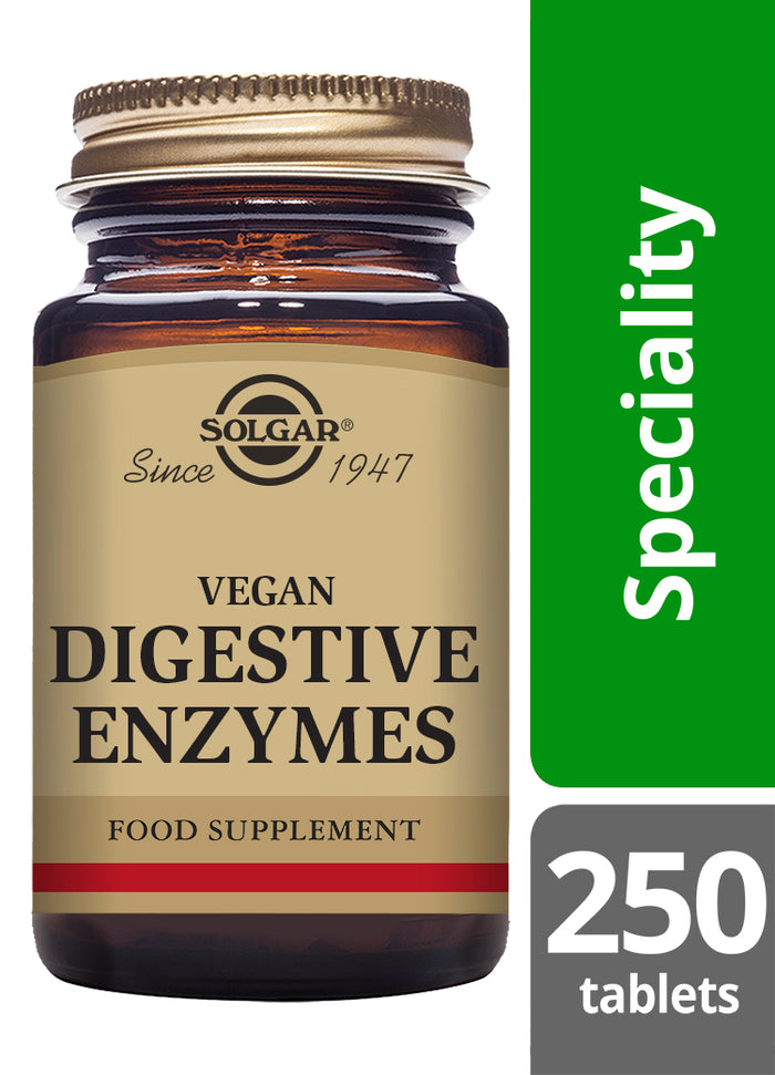Solgar® Vegan Digestive Enzymes Chewable Tablets - Pack of 250
