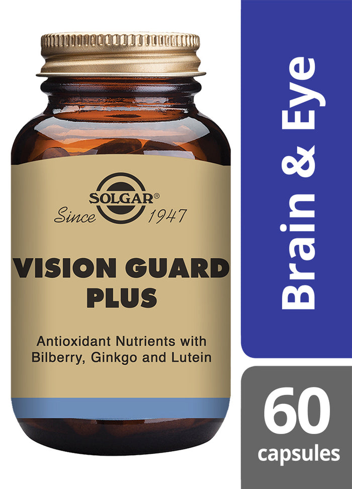 Solgar® Vision Guard Plus Vegetable Capsules - Pack of 60