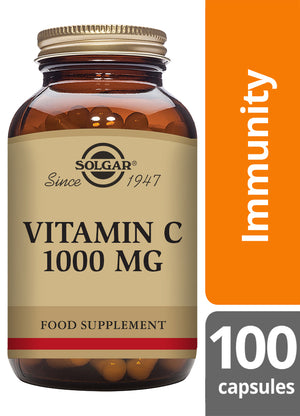 Solgar® Vitamin C 1000mg Vegetable Capsules - Pack of 100