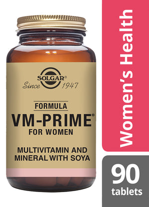 Solgar® Formula VM-Prime® For Women Tablets - Pack of 90