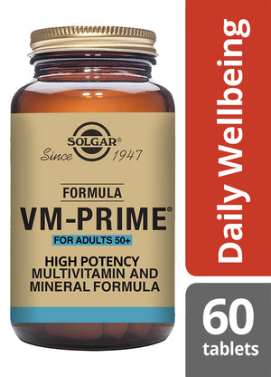 Solgar® Formula VM-Prime® For Adults 50+ Tablets - Pack of 60