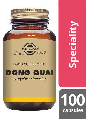 Solgar® Dong Quai Vegetable Capsules - Pack of 100